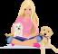 Afbeelding voor  Barbie Hondenshow Puppys