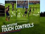 Je kunt het touch screen gebruiken om de bal op verschillende manieren te schieten.
