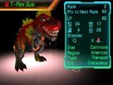 Je probeert je dinosaurus sterker te maken door samen met hem te vechten.