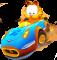 Geheimen en cheats voor Garfield Kart