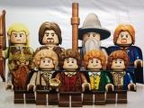Speel als vrijwel alle figuren uit de films, waaronder elfen, dwergen, hobbits en Gollum!