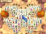 Een twist op het klassieke Japanse spel Mahjong.