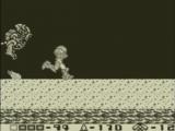 Samus kan erg snel rennen in Return of Samus!