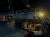 De Titanic, het decor van dit moorddrama.