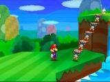 Het spel zit vol met geheimen en puzzels! Zo kun je met een trap van Toads daarboven komen.