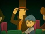 Professor Layton en Luke in de achtbaan!