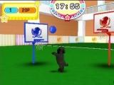 Hondjes en basketball gaan niet samen.