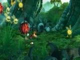 Dit is Rayman, de held van het spel.