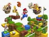 De hoofdrol is natuurlijk voor de loodgieter Mario. Misschien kun je zijn broertje ook zien?