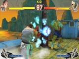 De 3DS versie van Super Street Fighter IV bevat een speciaal camerastandpunt waardoor het 3D effect beter tot zijn recht komt.