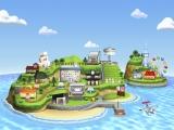 Dit is het eiland waarop het allemaal gebeurt.