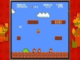 De game bevat ook een versnelde versie van het oude, vertrouwde Super Mario Bros.