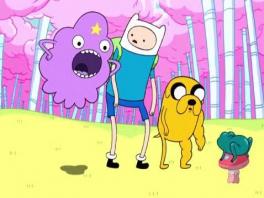 Speel met onder andere de Lumpy Space Princess, Finn en Jake.
