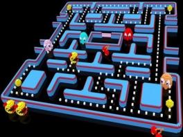 In 3D is Ms. Pacman ineens drie keer zo angstaanjagend!