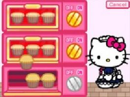 Leuk pakje, Kitty, maar het ziet er niet uit als bakkerskleding.
