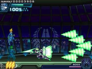 Door 'physics powers' worden machtige aanvallen toegevoegd aan het arsenaal van Gunvolt.