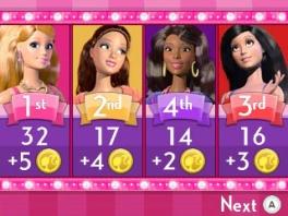 Speel eerst met Barbie en kies daarna andere dames.