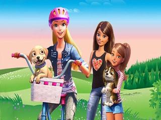 Help Barbie en haar zussen met het redden van puppy's!