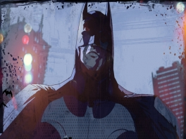 Kruip in de huid van de Dark Knight, beter bekend als Batman.
