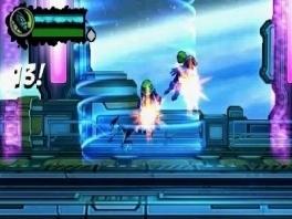 Vechten in teleport machines, iets wat je kunt verwachten in een alien avontuur van Ben 10!