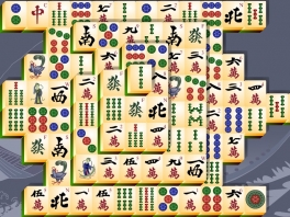 Ook het Japanse spel Mahjong is van de partij!
