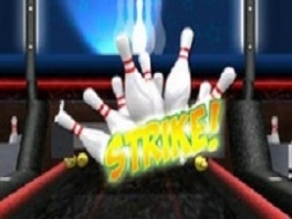 Yeah! Het is inderdaad een strike. 10 punten!