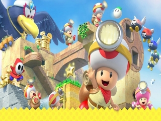 Deze game komt origineel van de Wii U en is ook speelbaar op de Switch.