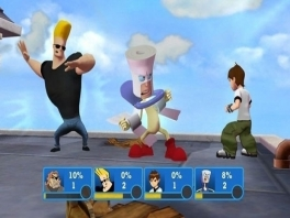 Speel als je favoriete Cartoon Network helden, zoals Johnny Bravo en ben 10!