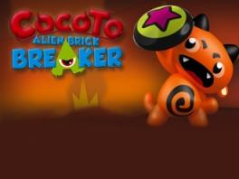 Versla als Cocoto alle aliens met je speciale schild!
