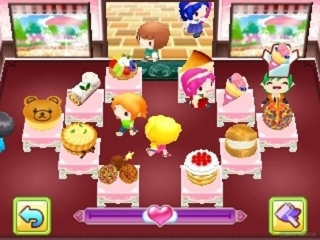 Cooking Mama Sweet Shop: Screenshot