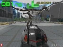 Niets houdt mij tegen, zelfs een dinosaurus niet!