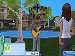 Ga nou eens weg, ik probeer mijn gitaar te stemmen! Verwacht je een serenade of zo?