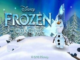 Speel met de lieve onnozele Olaf.
