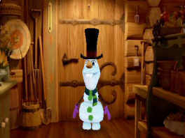 Natuurlijk, stop de sneeuwman maar in een hete blokhut, ik zie niet hoe dat mis zou kunnen gaan...