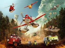 Speel als alle auto's en vliegtuigen uit de film!