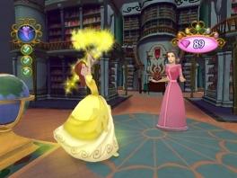 Gebruik je speciale prinsessen krachten tegen de gemene zusjes van Assepoester.