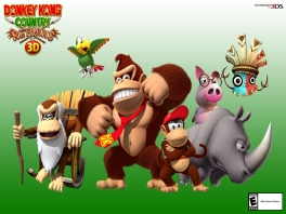 Natuurlijk speel je het spel als DK en Diddy Kong. Cranky en de rest zul je ook tegenkomen in de game.