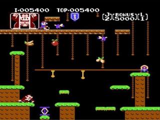 Donkey Kong Jr. moet door velen levels klimmen om zijn vader <a href = https://www.mario3ds.nl/Nintendo-3DS-spel.php?t=Donkey_Kong_Country_Returns_3D>Donkey Kong</a> te redden van Mario.