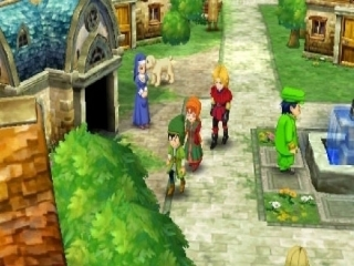 Dragon Quest VII Fragments of the Forgotten Past: Screenshot