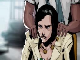 De cutscenes zien er cartoonachtig uit.