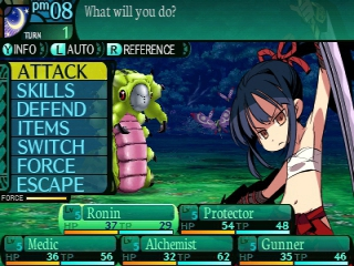 Etrian Odyssey 2 Untold The Fafnir Knight: Screenshot