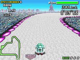 Neem deel aan spannende racen, waar een crash fataal is.