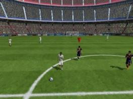 Hee, waarom heeft Messi zo'n diamantje boven zijn hoofd? Ben ik soms de Sims aan het spelen?