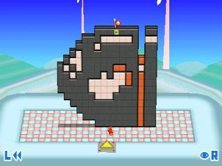 Ook beroemde karakters uit andere series zijn hier in puzzelvorm te vinden, zoals de Bullet Bill uit Super Mario.