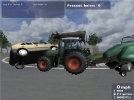 Misschien is het tijd voor een opfriscursus tractor rijden...
