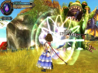 Final Fantasy Explorers is een actie-RPG en doet soms denken aan games als Monster Hunter.
