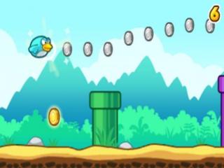 Flap Flap doet denken aan het immens populaire smartphone-spel Flappy Bird.