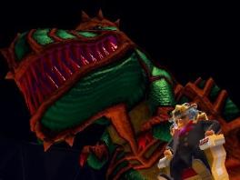 De speler zal samen moeten werken met dinosaurussen.