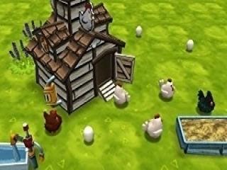 Jullie moeten de eieren wel in het hok leggen...