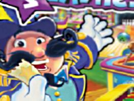 Deze blije bolle man leidt je door alle minigames heen!